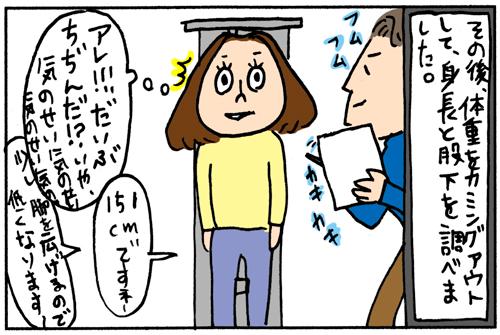 理想のポジションが分かる【バイオレーサー1000】をやってきました♪(漫画)