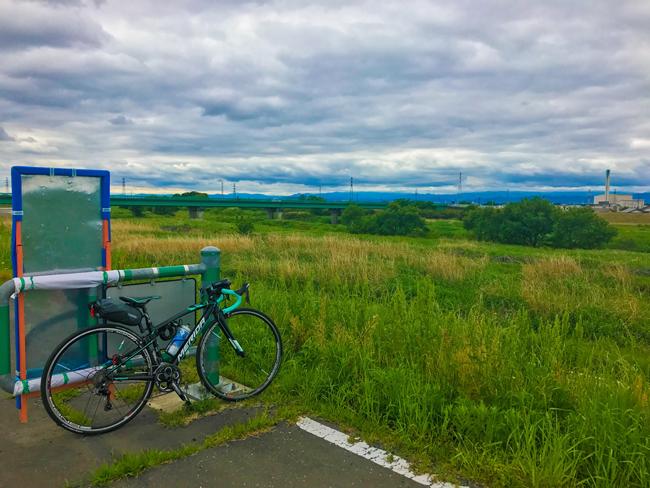 荒川〜入間川〜カフェキキまでの180kmロングライド!