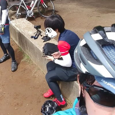 ショートヘアでロードバイクでサイクリングしてみた結果