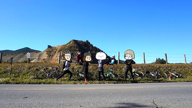 君津駅から鹿野山までサイクリング!グランド小キャニオンの前でジョジョ立ちポーズで撮影会