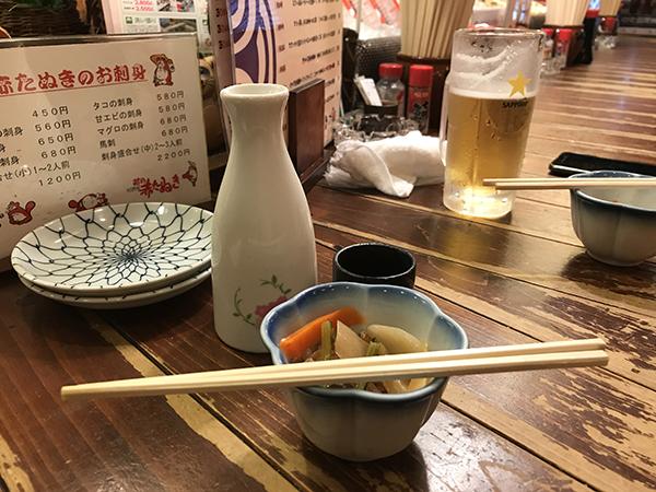 新潟シティライド前日にプチ観光♪お酒のむなら赤たぬき!