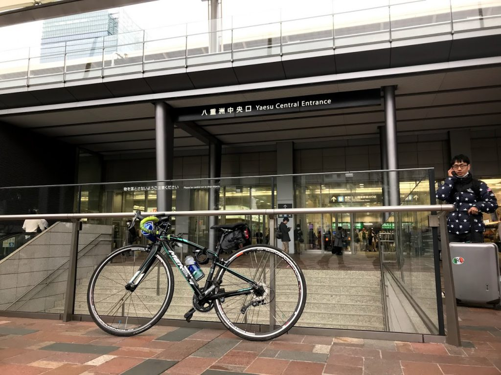 29駅ある山手線一周ライドしてきました!とても楽しく都内をサイクリングできました!オススメです!まずは東京駅八重洲口からスタート