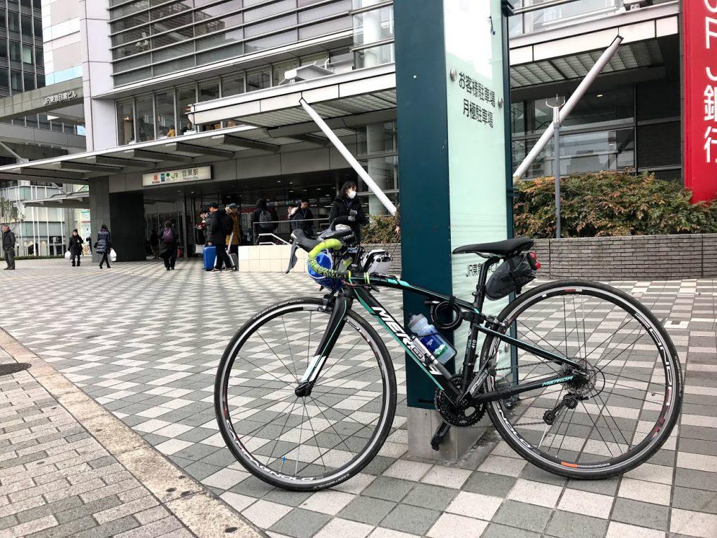 29駅ある山手線一周ライドしてきました!とても楽しく都内をサイクリングできました!目黒!
