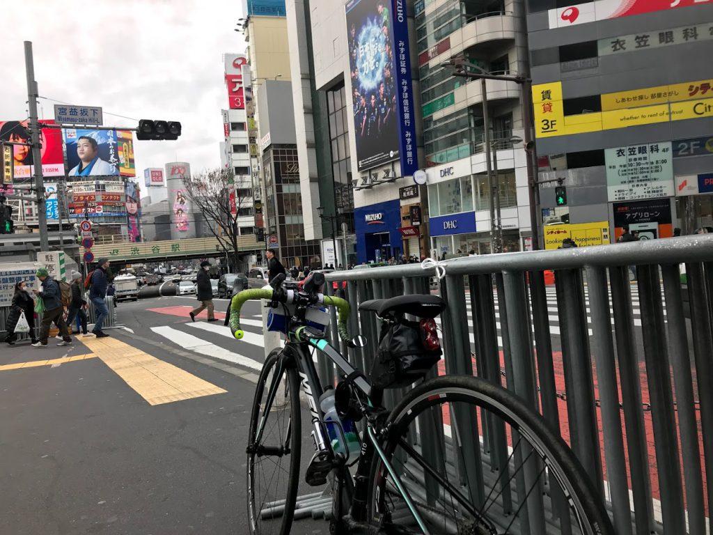 29駅ある山手線一周ライドしてきました!とても楽しく都内をサイクリングできました!渋谷〜!