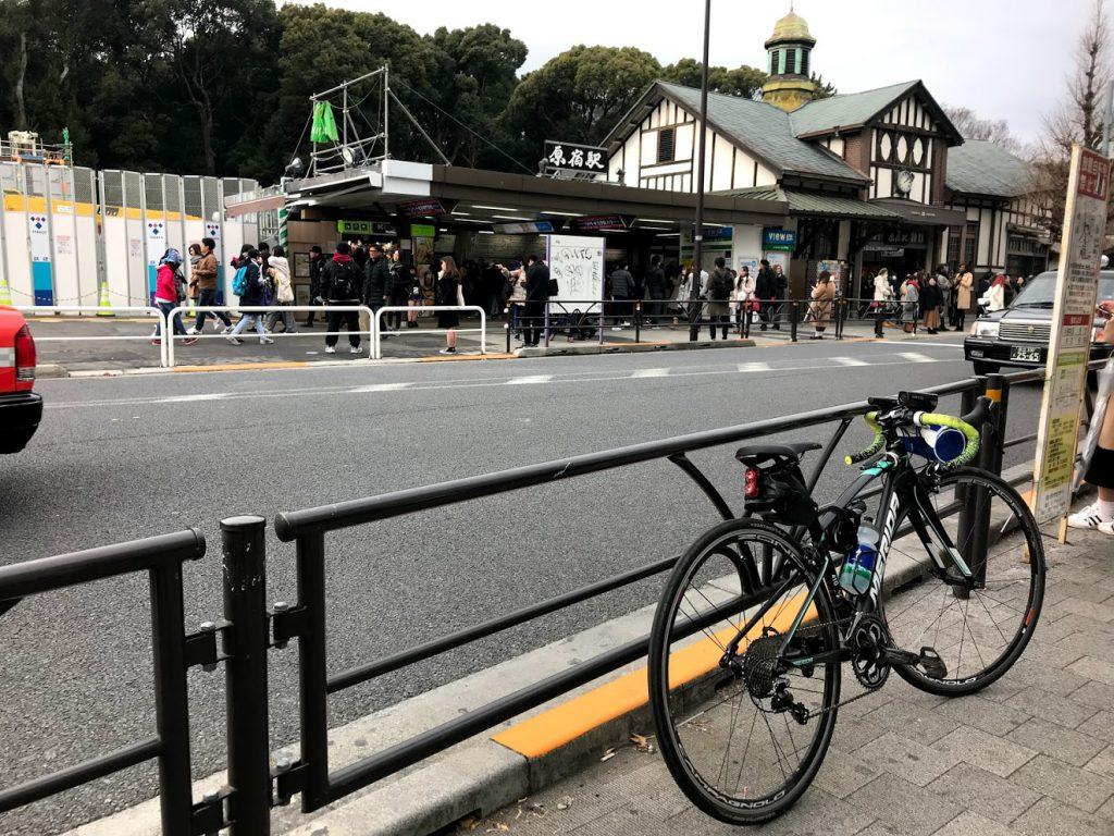 29駅ある山手線一周ライドしてきました!とても楽しく都内をサイクリングできました!原宿!