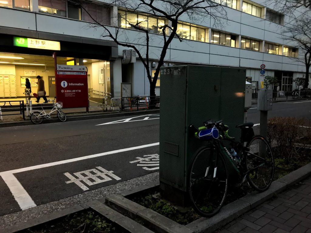 29駅ある山手線一周ライドしてきました!とても楽しく都内をサイクリングできました!上野!