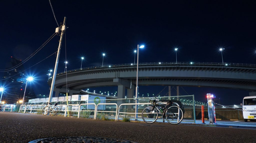 穴場のレインボーブレッジ|写真映え間違いなし!都内の夜景観光スポット巡りしてきました^^夏だからこそオススメするナイトライド♪
