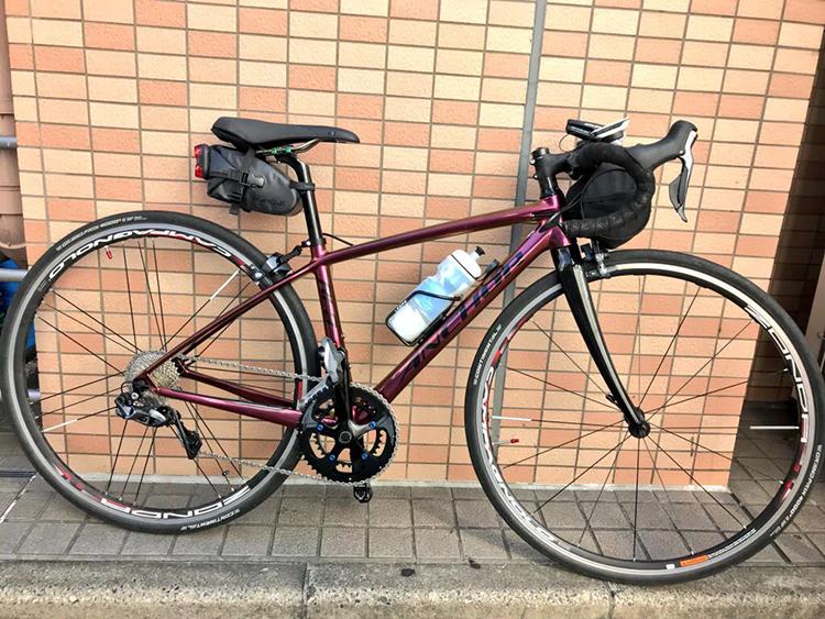 前澤理論で注文したカーボンのロードバイクが遂にやってきました!〜アンカーRL8W〜カラーオーダー(マジョーラトラペジウム)でコンポも拘った女性ローディは私です。