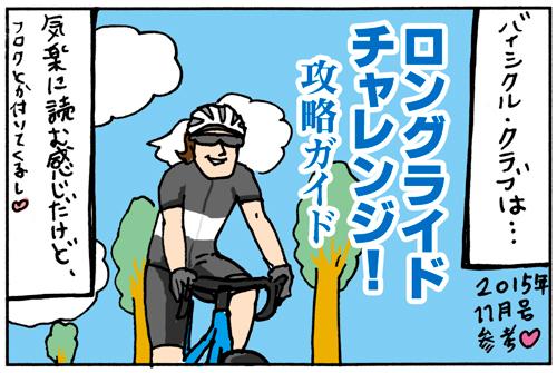 バイシクルクラブとサイクルスポーツの違い