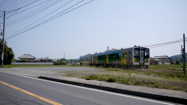 養老渓谷といえば電車ですよね!可愛かったです♪これは久留里線です^^