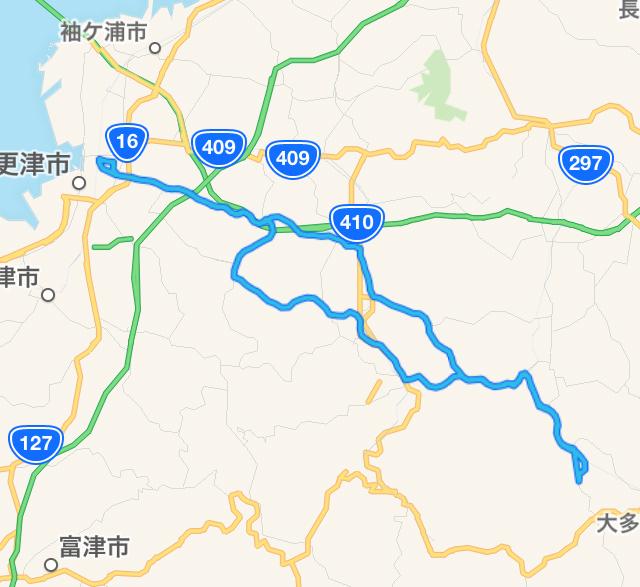 木更津〜養老渓谷までサイクリング。
