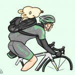 ローディ&サイクリスト用LINEスタンプ画像☆40人でスタンプを作ろう企画♪画像プレゼント