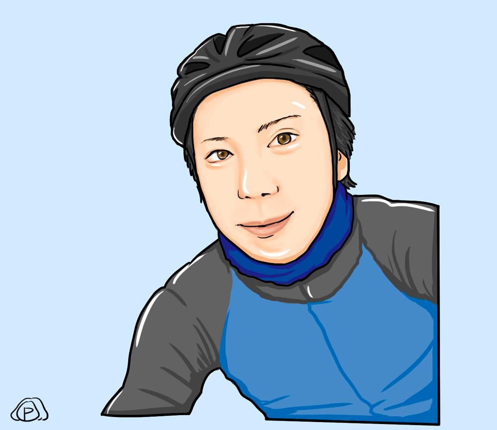【自分がLINEスタンプになる企画】ローディ&サイクリスト用LINEスタンプ画像プレゼント☆その1