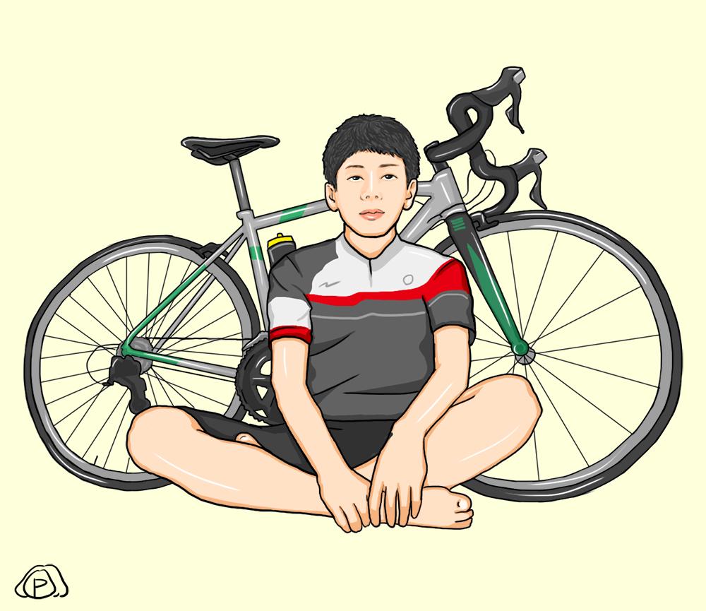 【自分がLINEスタンプになる企画】ローディ&サイクリスト用LINEスタンプ画像プレゼント☆その3