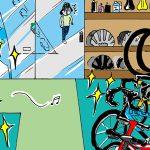 【2話】自転車超初心者Pちゃんのドキュメンタリー系成長漫画『Pちゃん自転車が欲しいの巻2』