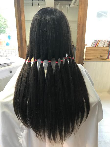 ヘアードネーションしてさっぱりしました!髪の毛を寄付する際の切り方