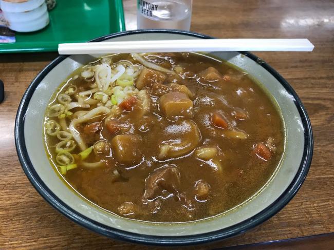 初心者ローディには自信がつく!那須でほぼヒルクライムなサイクリングコースを走ってきました♪那須岳のお土産&定食屋さん『那須大丸ガーデン』カレーうどん!