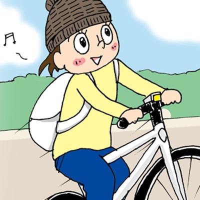 自転車超初心者Pちゃんのドキュメンタリー系成長漫画〜チャリ通勤は最高!