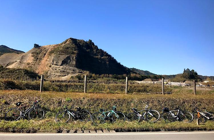 君津駅から鹿野山までサイクリング!グランド小キャニオンの前で撮影会