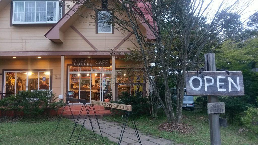 那須で有名なカフェSUDA COFFEEにもいけました〜!