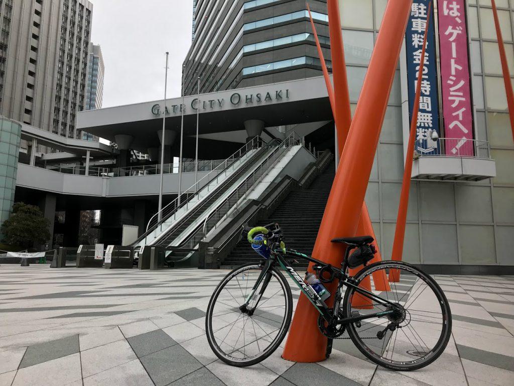 29駅ある山手線一周ライドしてきました!とても楽しく都内をサイクリングできました!大崎!
