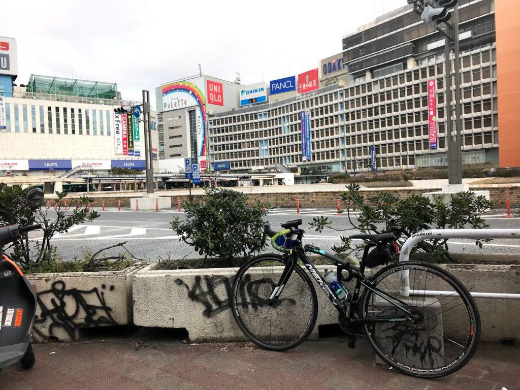 29駅ある山手線一周ライドしてきました!とても楽しく都内をサイクリングできました!新宿!