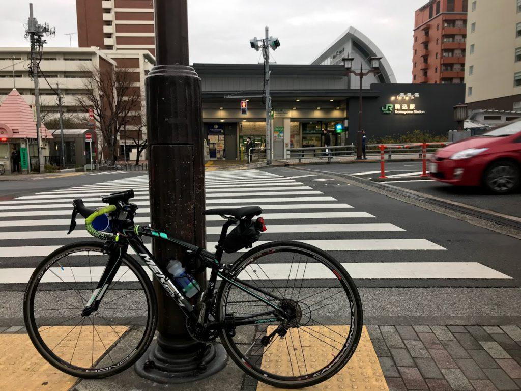 29駅ある山手線一周ライドしてきました!とても楽しく都内をサイクリングできました!駒込!