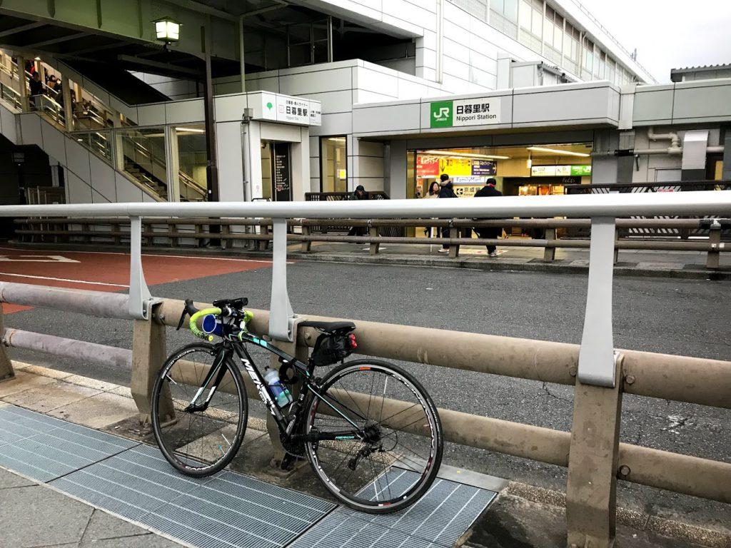 29駅ある山手線一周ライドしてきました!とても楽しく都内をサイクリングできました!日暮里!