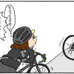 【四コマ漫画】サイクリング(ブルベ)中に心が折れる出来事がありました・・・