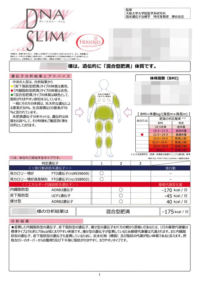 <後編>結果発表!サイクリングで減量が上手くいかない人の救世主?ダイエット遺伝子検査キットを買ってみた。遺伝子タイプは混合型肥満でした。