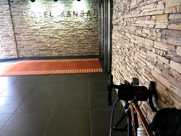 <2日目>関西出張ライドしてきました!梅田〜京都〜琵琶湖_ホテル関西