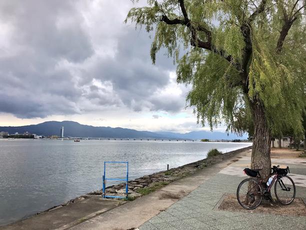 琵琶湖!<2日目>関西出張ライドしてきました!梅田〜京都〜琵琶湖