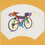 その場でアート作品が買えちゃう!今年最後の展示会『Art Of Giving』に参加します^^自転車の作品もあるよ☆