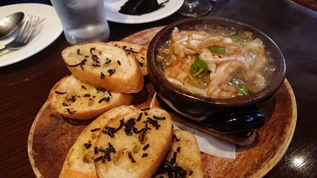 新潟シティライドの後に夕食を食べに!スパニッシュ&イタリアンバル FAGOTTO ~ファゴット~