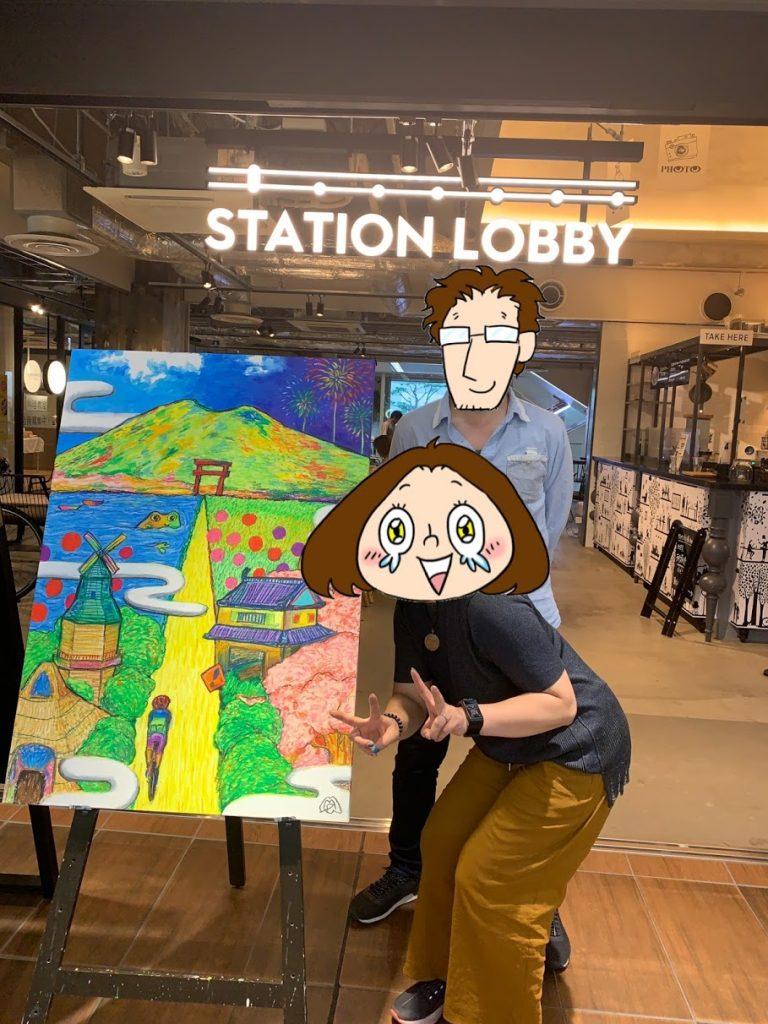 【御礼】土浦で開催されたステロビ(ステーションロビー(プレイアトレ内))アート展&イベント無事終了!〜イベントの様子をお届けします〜