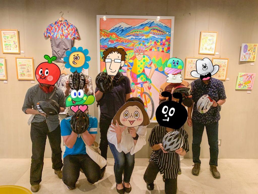 【御礼】土浦で開催されたステロビ(ステーションロビー(プレイアトレ内))アート展&イベント無事終了!〜ヘルメットにペイントしました〜