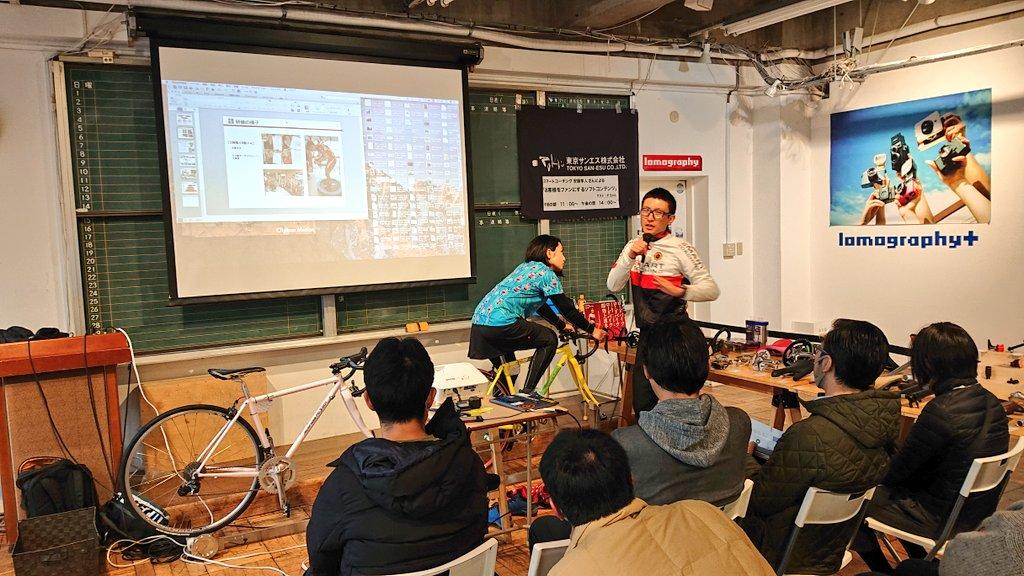 アートなサドル『TOKYO VICTORY』TERRYのサイクルジャージを着てみました!