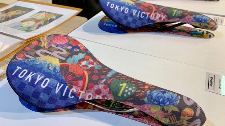 【発表】東京サンエス×Pちゃんコラボ!アートなサドル『TOKYO VICTORY』を限定販売します