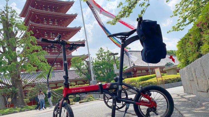 普段使ってるバッグを自転車に装着!KLICKfixアダプタープレートの取り付け方&DAHON K3にエクステンダーCK810を取り付ける際の注意点
