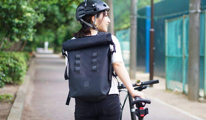 <PR>自転車通勤にオススメ!ピタッと身体に密着するCHROMEのバックパックURBAN EX2.0ROLLTOP(20L)の使用レビュー